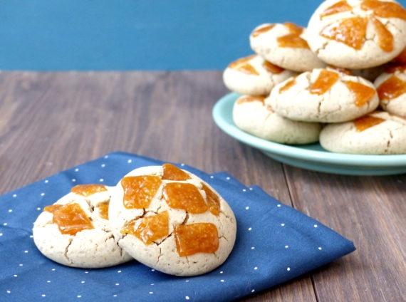 vignette cookie caramel sans gluten