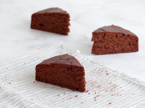 Gateau au chocolat vegan