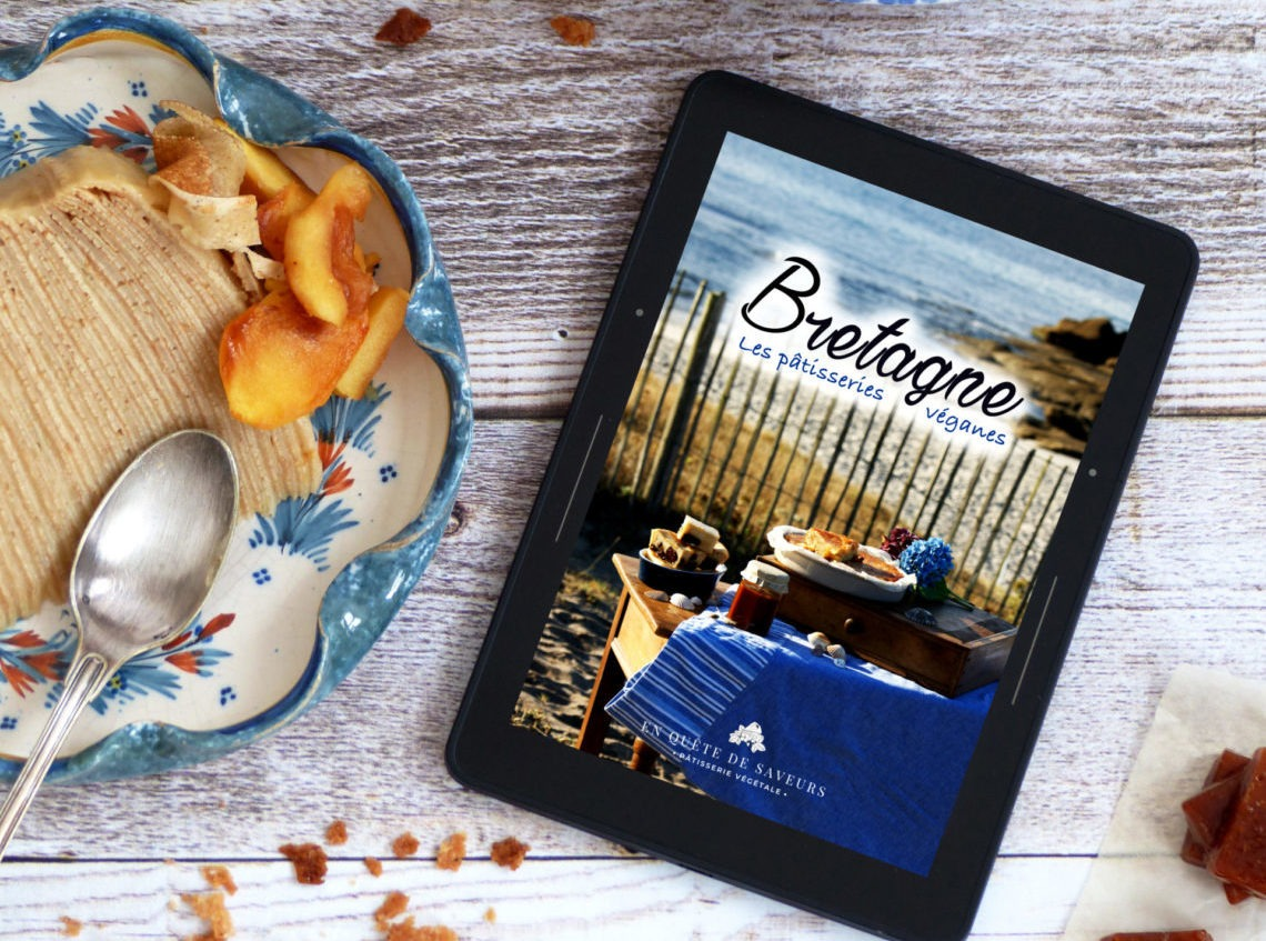 ebook La patisserie Bretonne en version vegan
