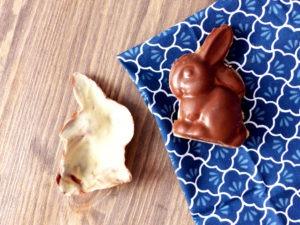 lapin chocolat vegan