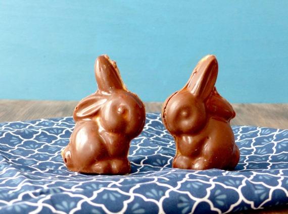 lapins au chocolat Vegan