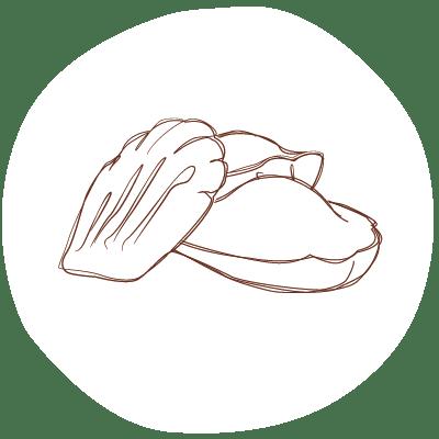 icone recettes de gateau vegan