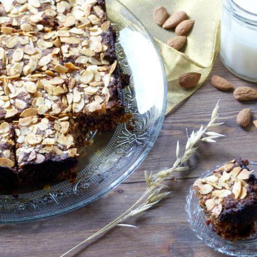 Gâteau semoule et dattes